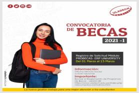 Convocatoria de becas 2021 - 1