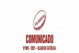 COMUNICADO: N°005-2021- ULADECH Católica
